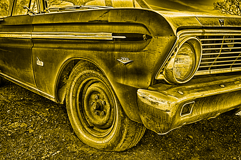 Old Ford Falcon