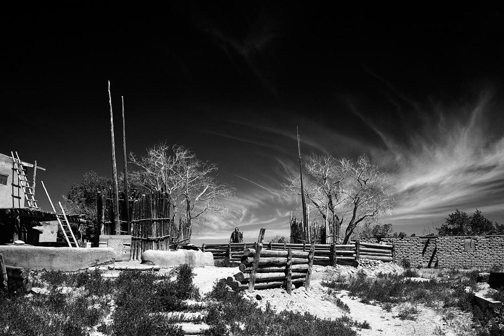 Taos Pueblo Farmer