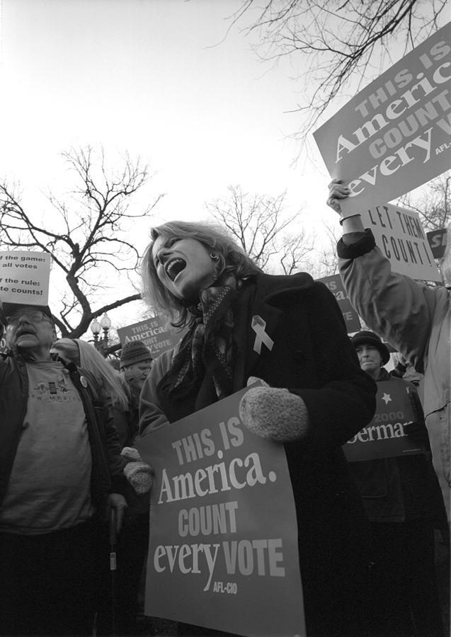 Supreme Court protester